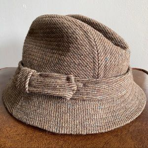 Country Gentleman Made In USA Tweed Wool Hat